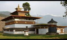 Chimi Lhakhang Temple under Barp Gewog, Punakha